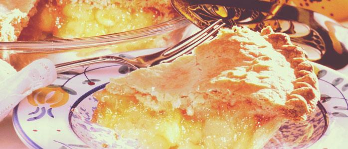 Der Kuchen - Klassiker: Gedeckter Apfelkuchen