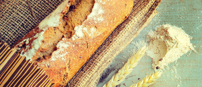 Köstliche gefüllte Brotvariante