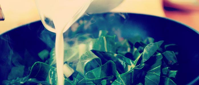 Ravioli und Spinat vereinen sich in einem leckeren Auflauf