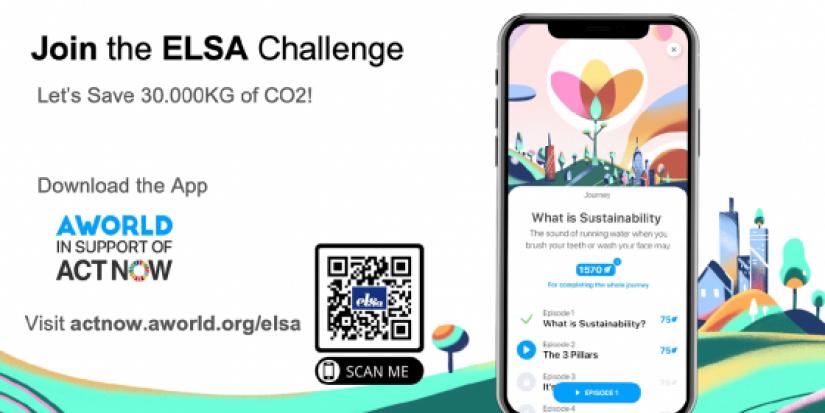 Join the ELSA Challenge - Let's Save 30.000kg of CO2!