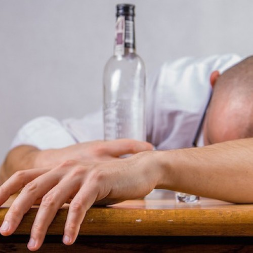 Der hohe Alkoholpegel
